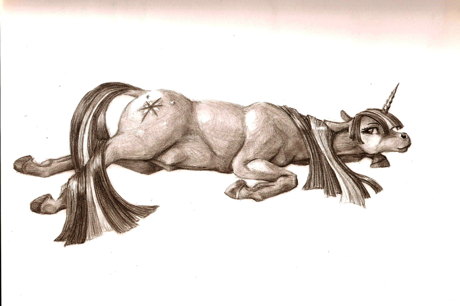Drawn my little pony realistic  Magic Pony: Little realistic