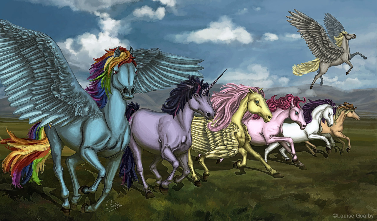 Drawn my little pony realistic Pony by DeviantArt by Little