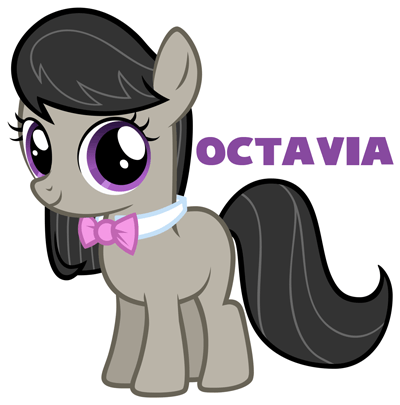 Drawn my little pony simple #11