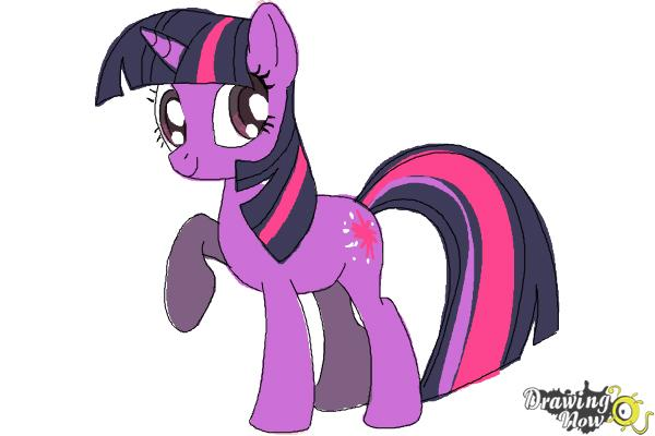 Drawn my little pony simple #10