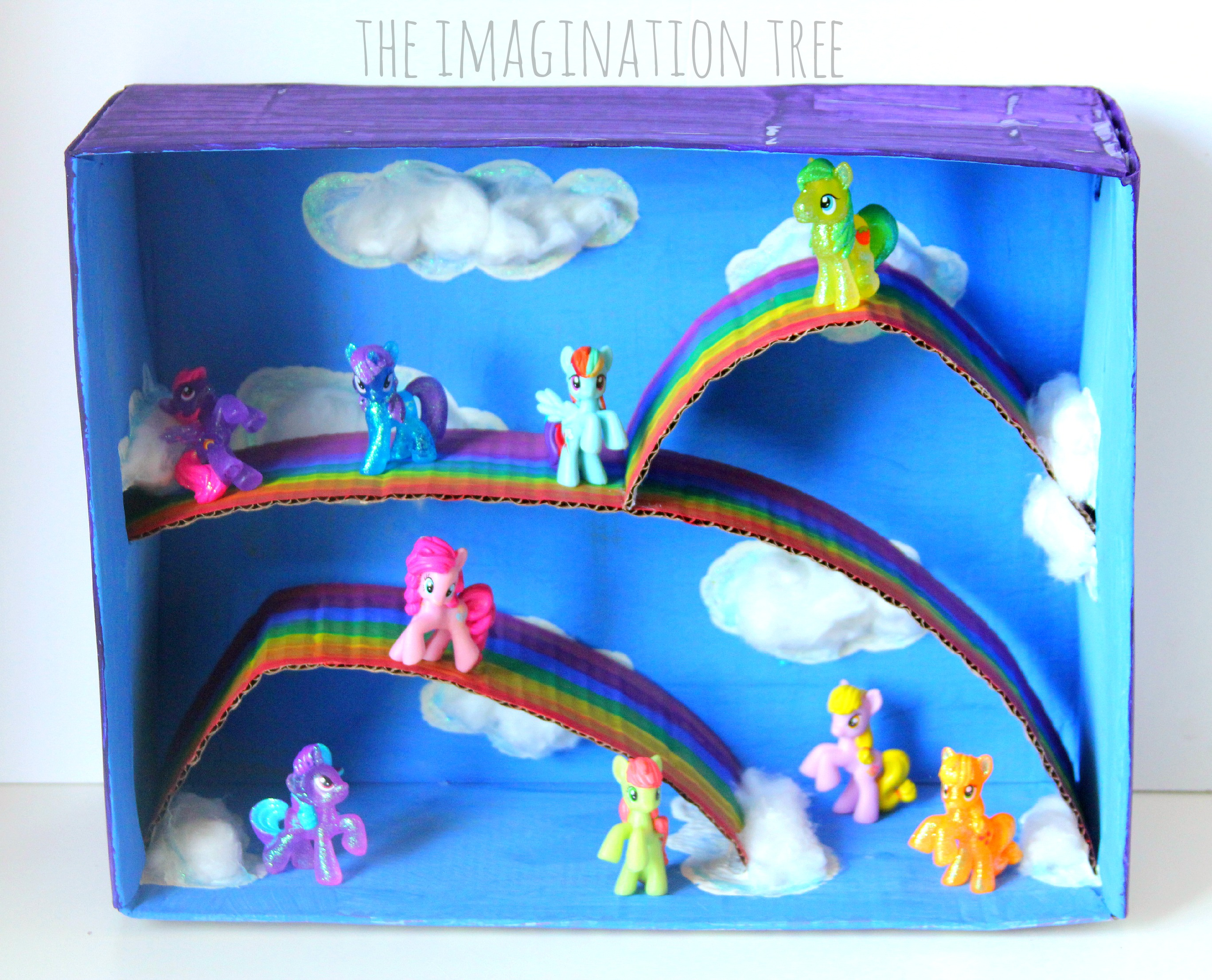 Drawn my little pony small Small World My Pony ideas