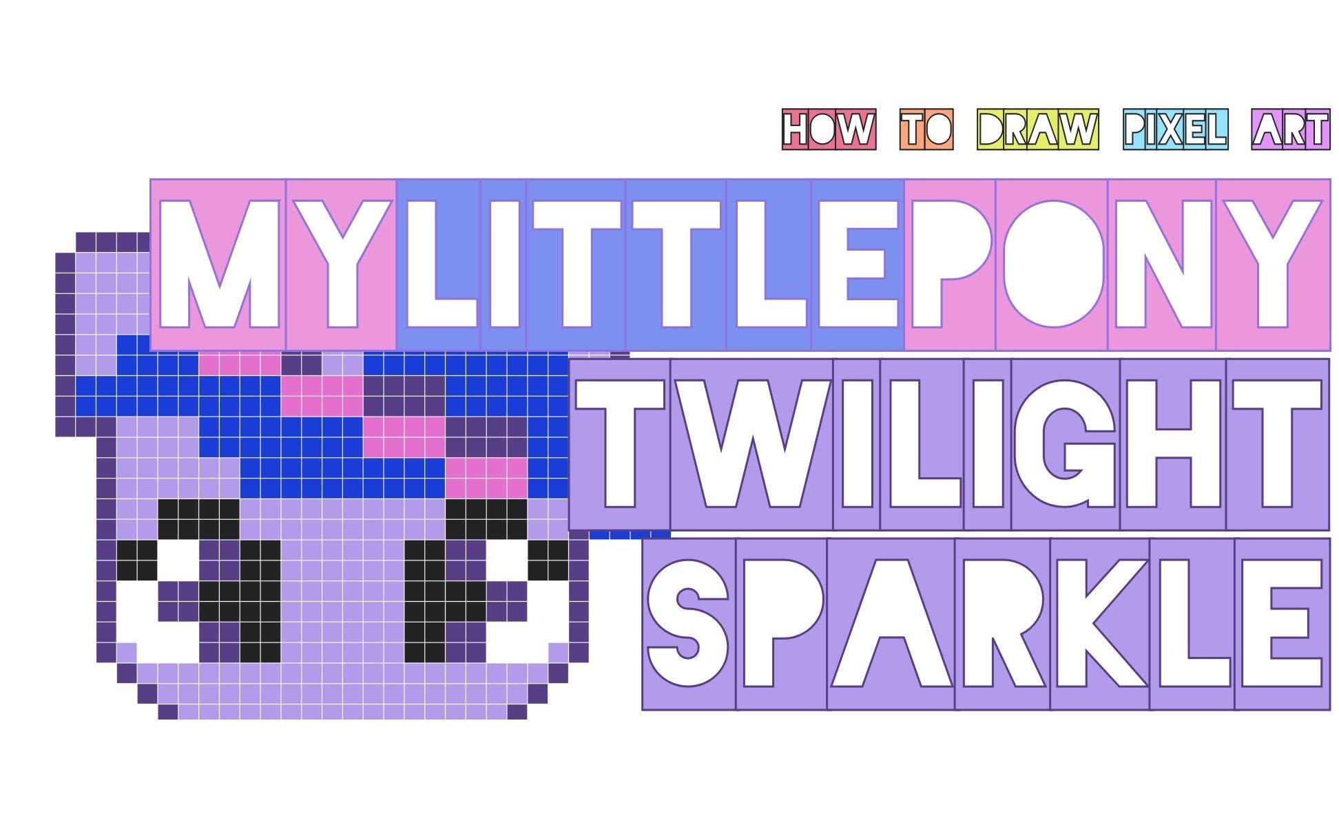 Drawn my little pony small How sparkle my small pony