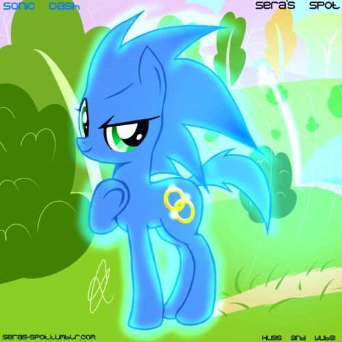 Drawn my little pony sonic amy Characters about Hedgehog on Pinterest