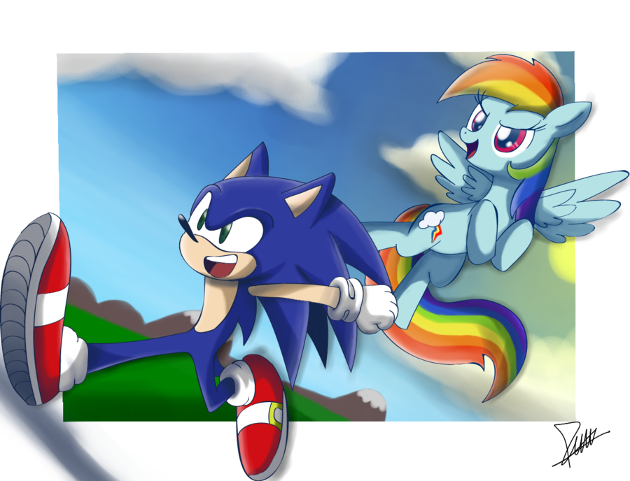 Drawn my little pony sonic character #11