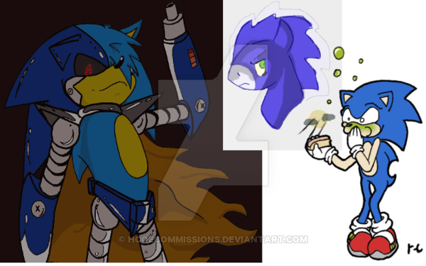 Drawn my little pony sonic character #8