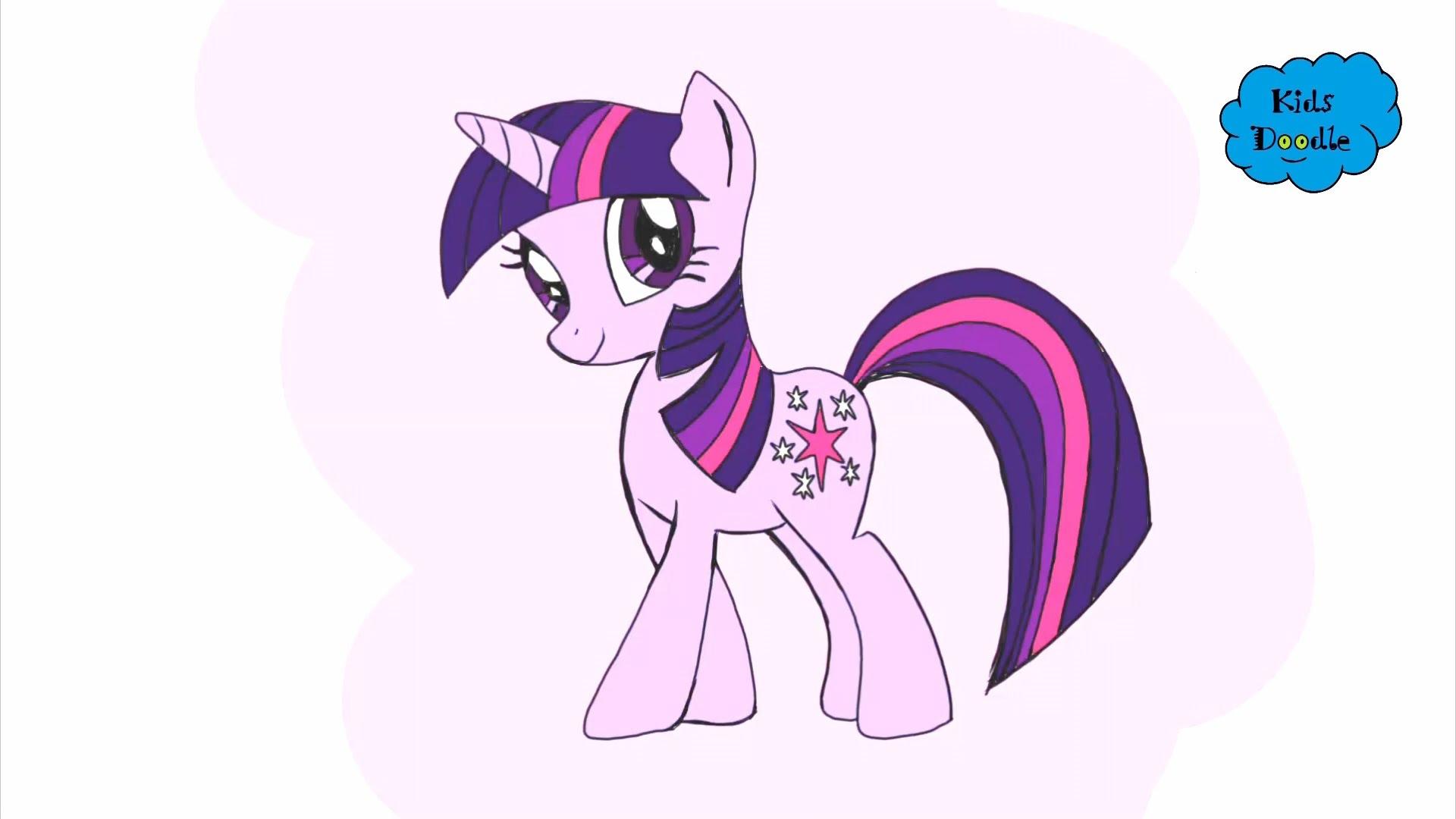 Drawn my little pony twilight Pony How episodes My draw