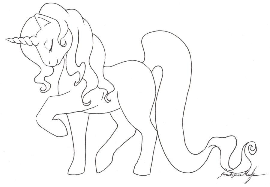 Drawn my little pony unicorn Eye Pony My template pony