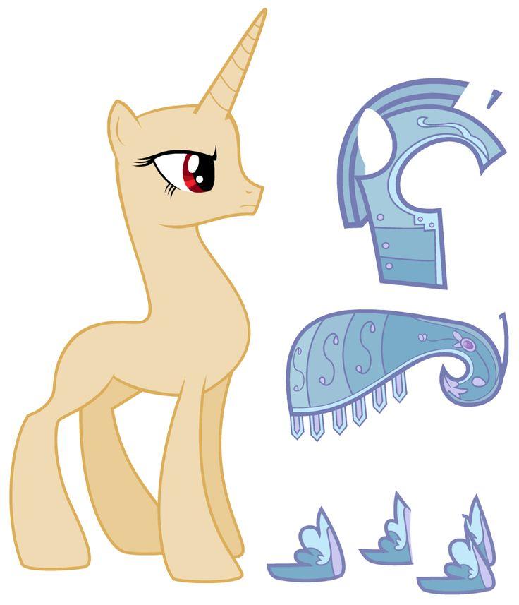 Drawn my little pony unicorn Mlp Unicorn on Guard Pinterest