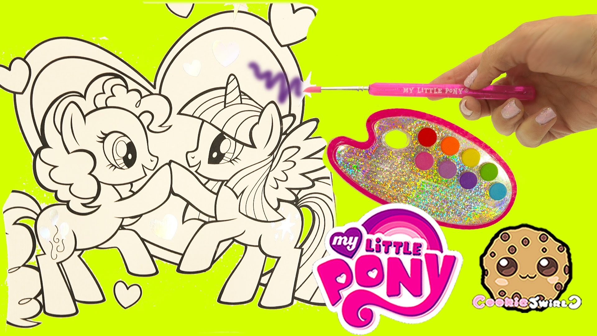 Drawn my little pony water MLP  Color Video Art
