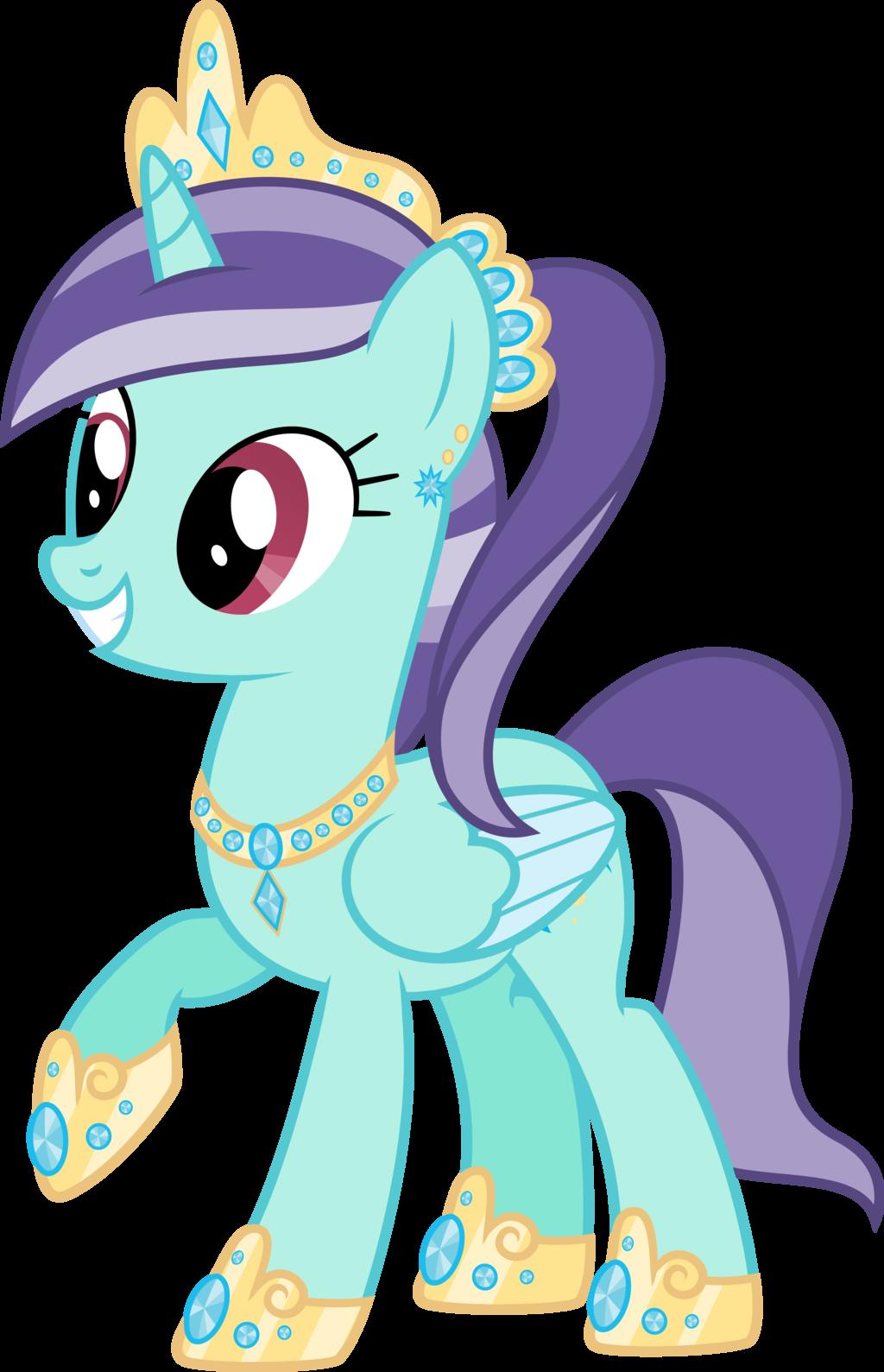 Drawn my little pony water Fans Crystal My m Pony