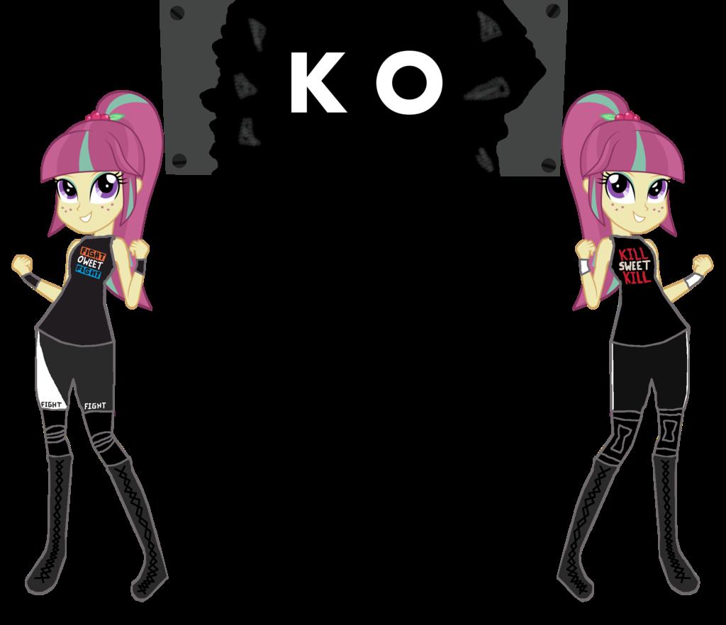 Drawn my little pony wwe Oweet MLP/WWE Kesour SKULLuigi Kesour