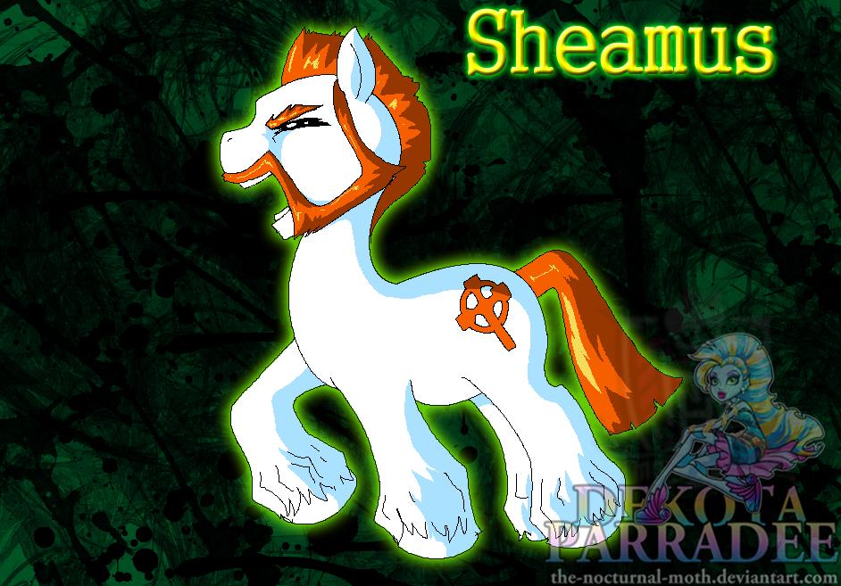 Drawn my little pony wwe DeviantArt Sheamus Brony Sheamus Warmonger