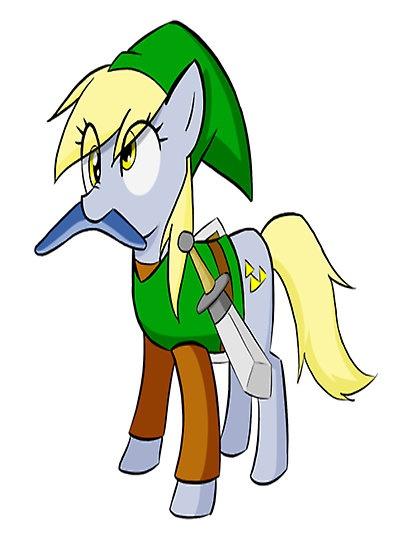 Drawn my little pony zelda Legend Doo Pinterest Friendship ZELDA!