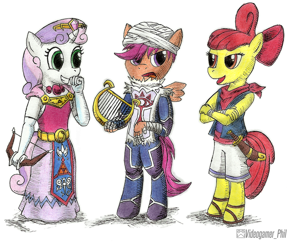 Drawn my little pony zelda  Cosplayers Anthro by Little