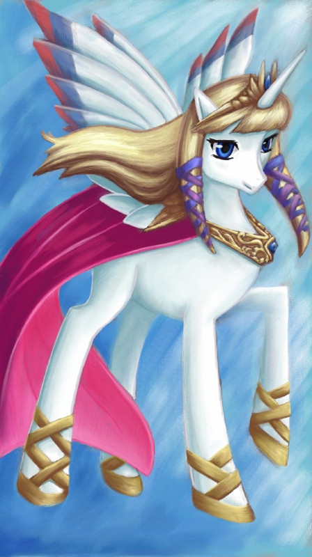 Drawn my little pony zelda To her wrong