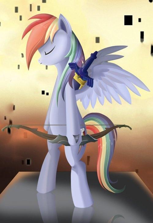 Drawn my little pony zelda Twilight The & Pony: Friendship