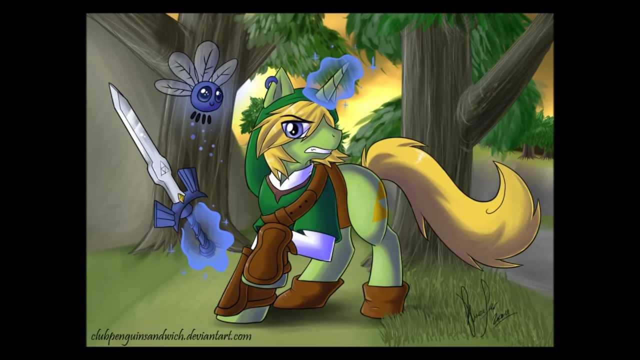 Drawn my little pony zelda My Of Friendship  Magic