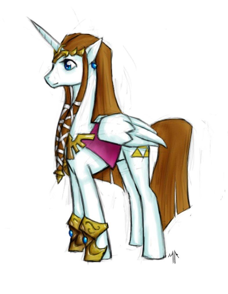 Drawn my little pony zelda DeviantArt Pony by by Pony