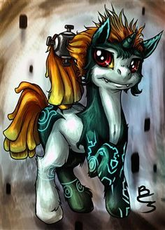 Drawn my little pony zelda Little Legend and Martinez of