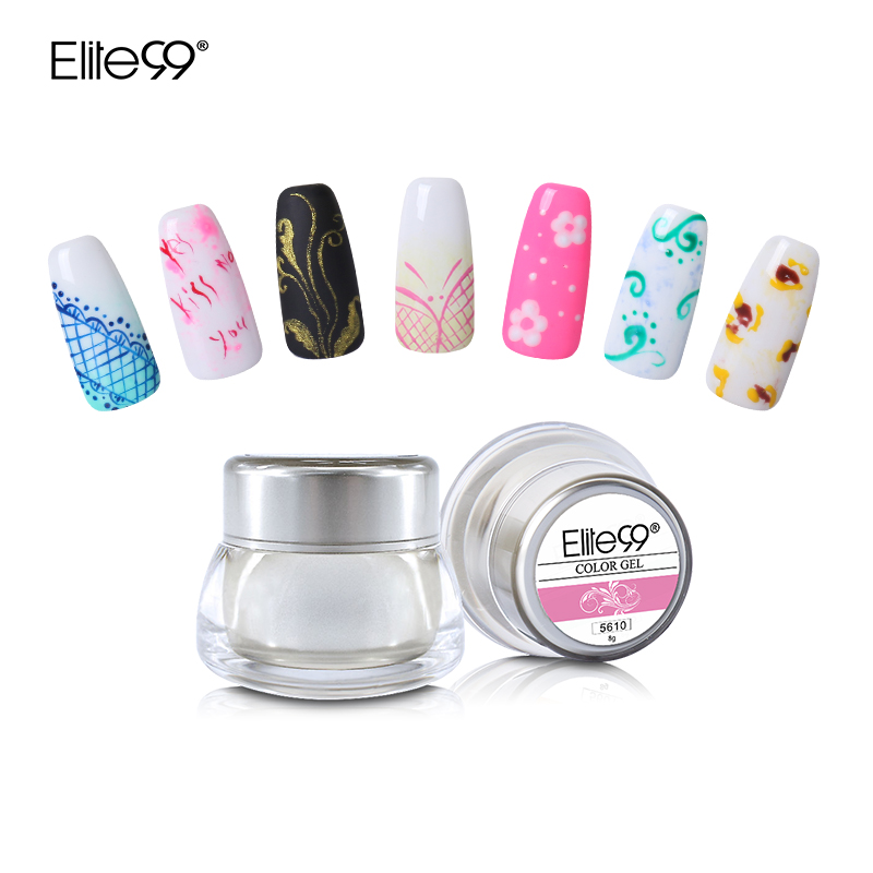 Drawn nail acrylic paint Color Promotion Any Gel Paint