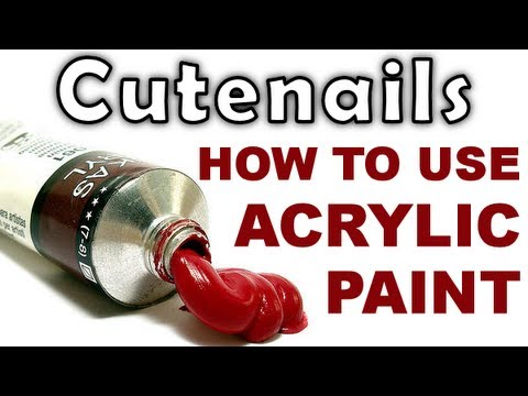 Drawn nail acrylic paint Nail art your for How