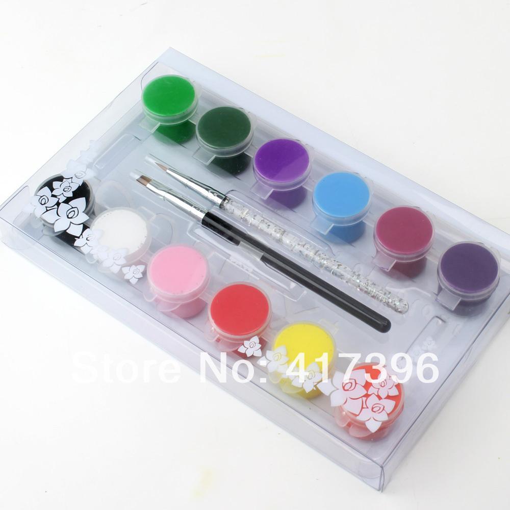 Drawn nail acrylic paint Paint Magically art Oumaxi nail