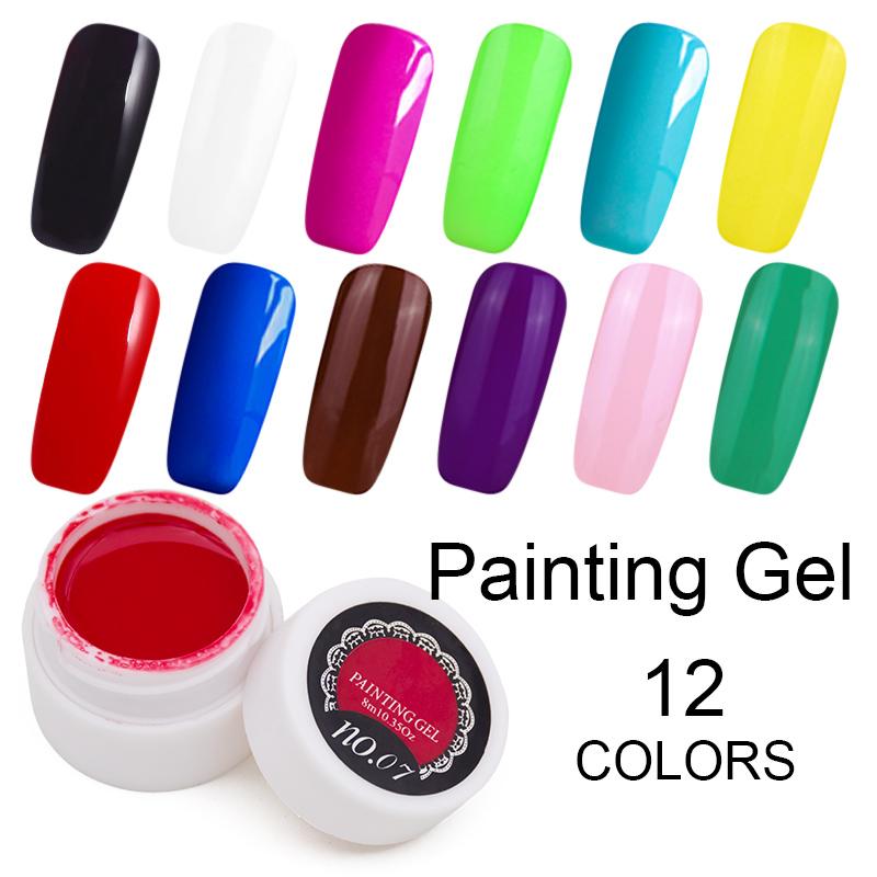 Drawn nail acrylic paint Off Paint nail Soak Online