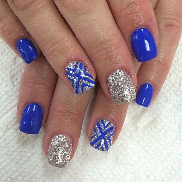 Drawn nail blue Art ideas 25+ Nail blue