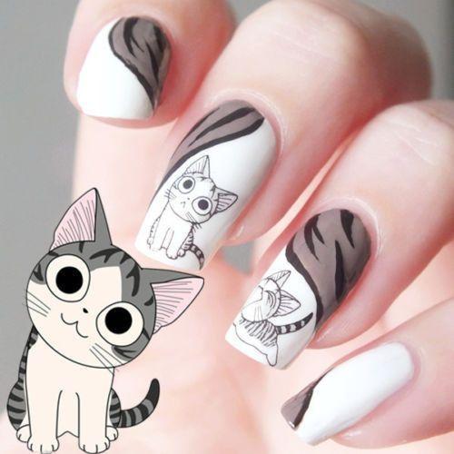 Drawn nail cat Nail on 25+ Owl Pinterest