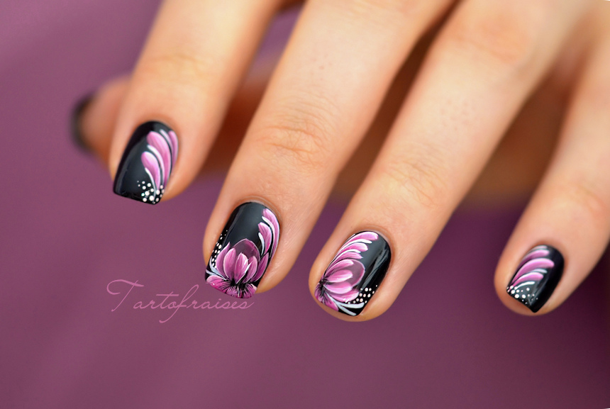 Drawn nail easy Nail  art techniques