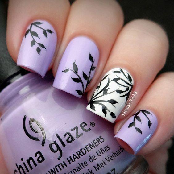 Drawn nail funky Theme ideas every nail this