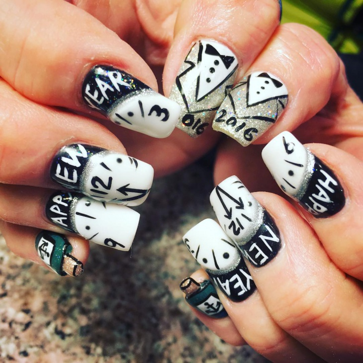 Drawn nail funky Tuxedo 21+ PSD Art Ideas