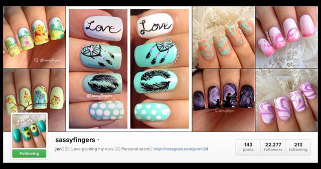 Drawn nail instagram Nails Sassy 1 Art Nail