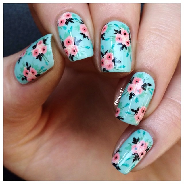 Drawn nail instagram Lieve91 by Inspiring Most 30