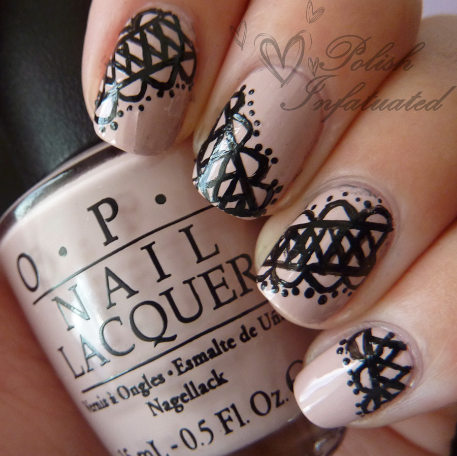 Drawn nail lace Trends Lace To Art Best
