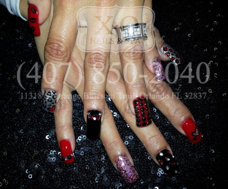 Drawn nail leopard Come on & for best