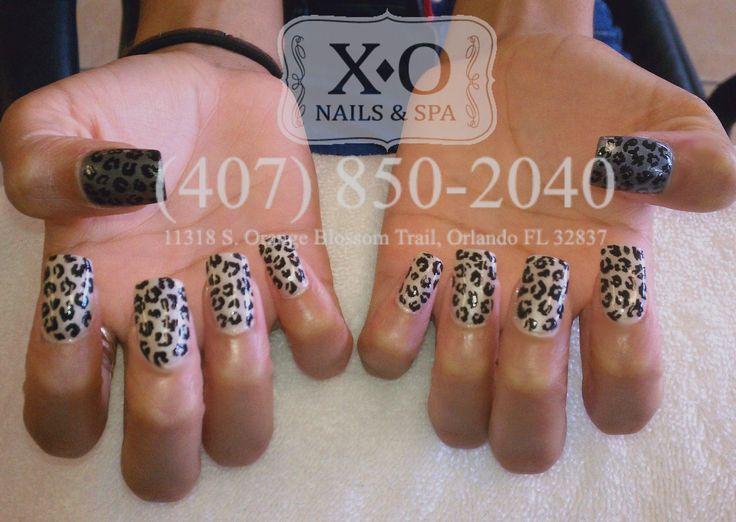 Drawn nail leopard Leopard Pinterest ART Print XO