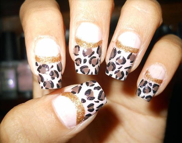 Drawn nail leopard Prev  Color Color Nail