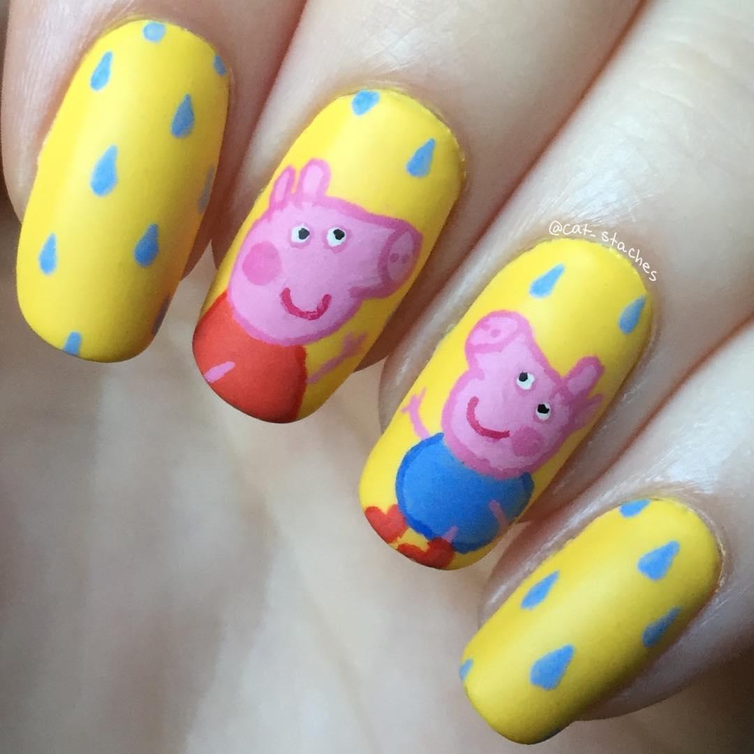 Drawn nail pig Miss  — Blog a