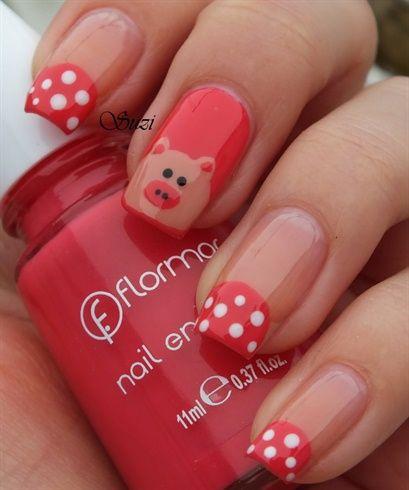 Drawn nail pig Magazine by Nails BeautyBySuzi hands