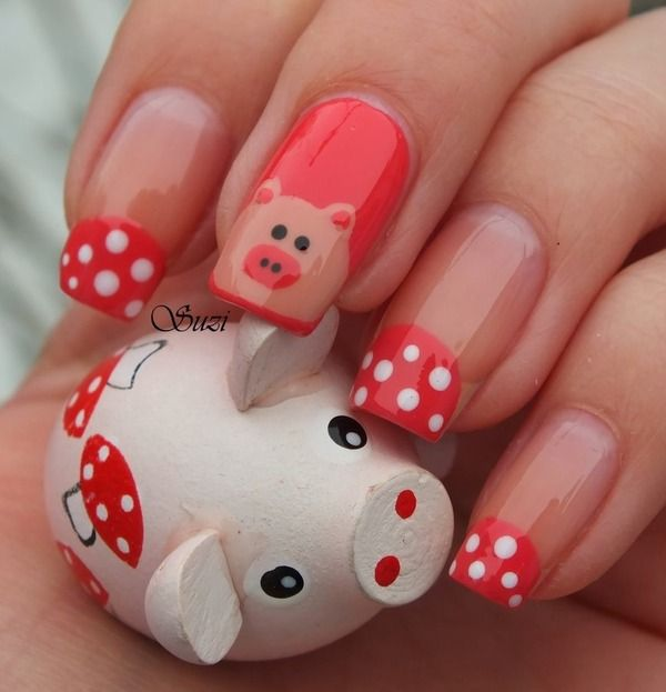 Drawn nail pig 2001 Nails best Piggy pigs