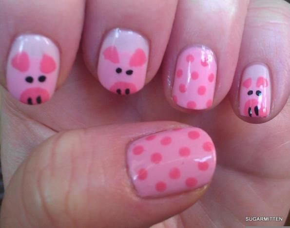 Drawn nail pig Best Stier Burns I images