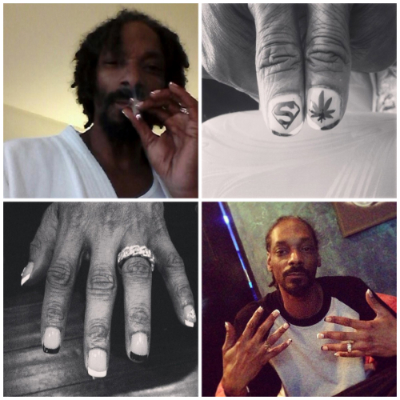 Drawn nail rapper Suspect With Male Nails With
