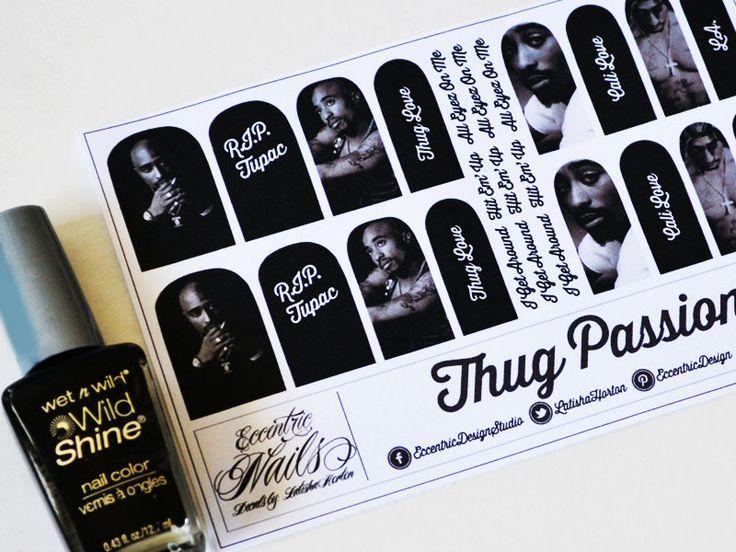 Drawn nail rapper Nail / images Nail Stickers