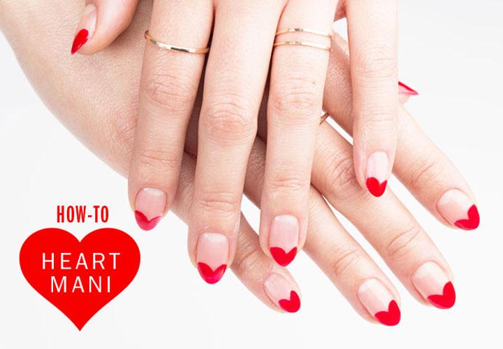 Drawn nail self For Simple 50 Heart Art