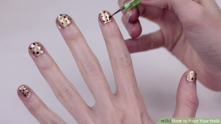 Drawn nail self Paint 3 18 titled wikiHow