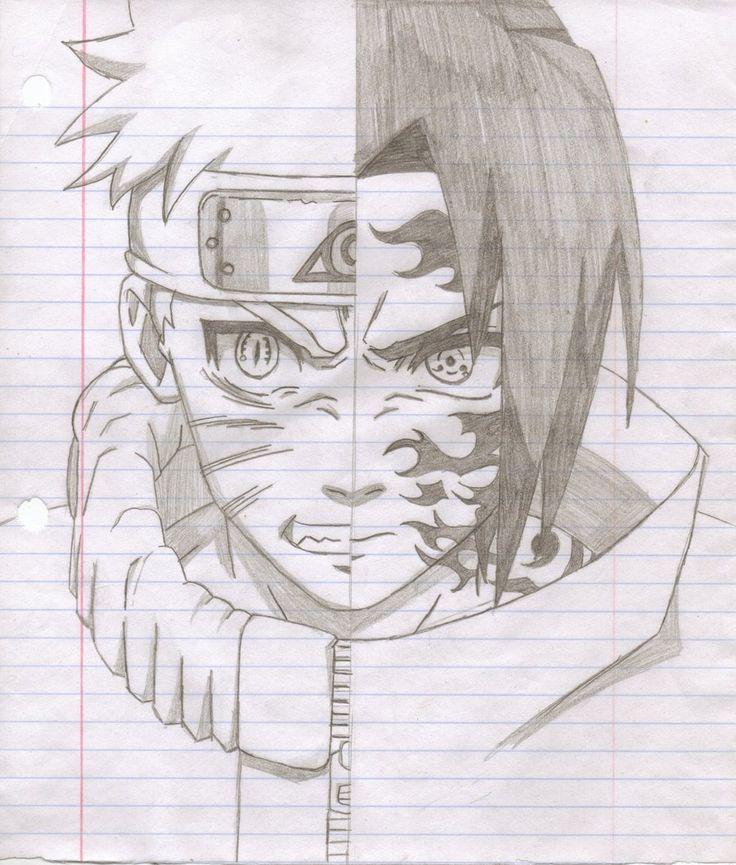 Drawn naruto Sasuke Drawings drawings drawings Naruto