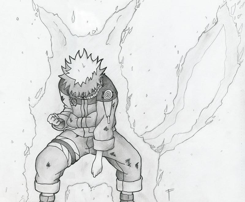 Drawn naruto Drawn Naruto Drawn demon Hand