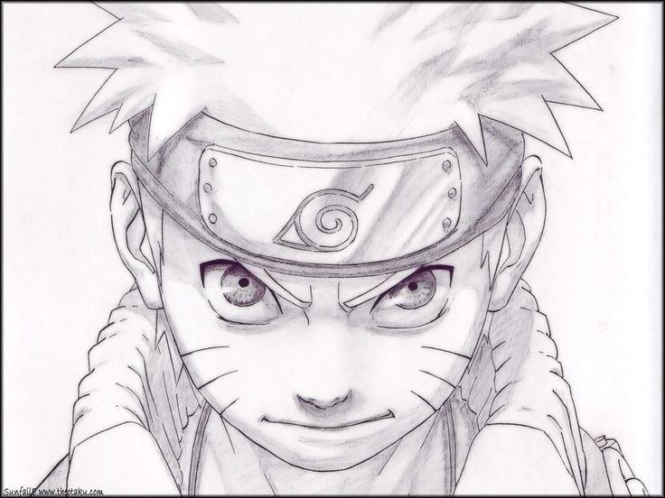 Drawn naruto Pencil Drawing Drawing Naruto Art