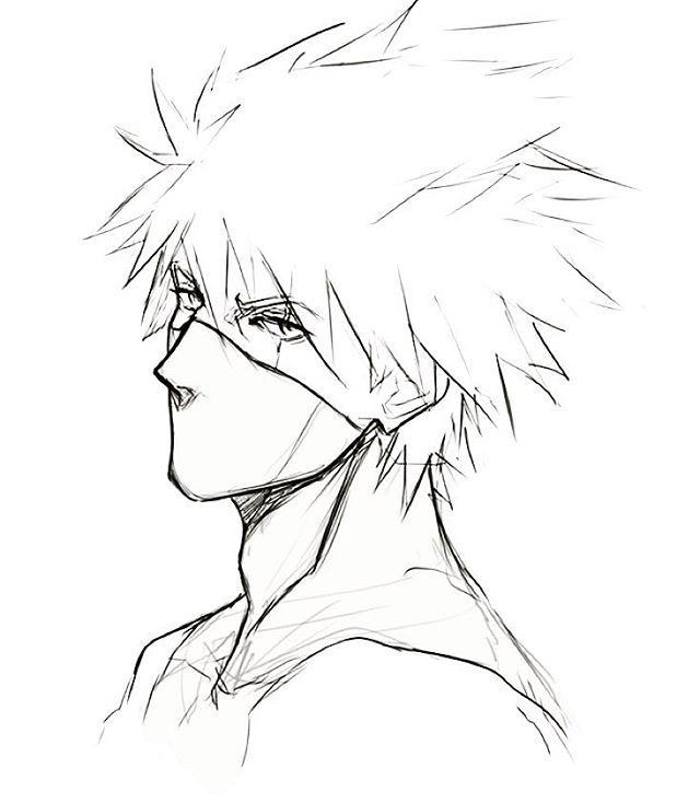 Drawn naruto art On Pinterest Pin and Naruto